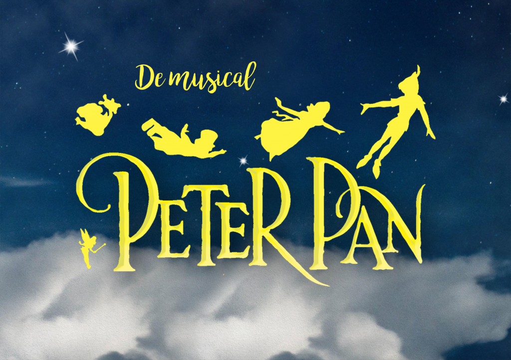 Peter pan de musical poster